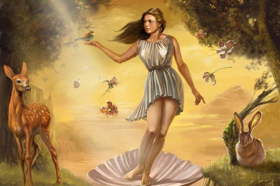 богиня секса Афродита