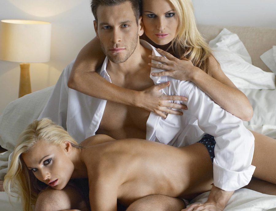 подготовка к сексу втроем