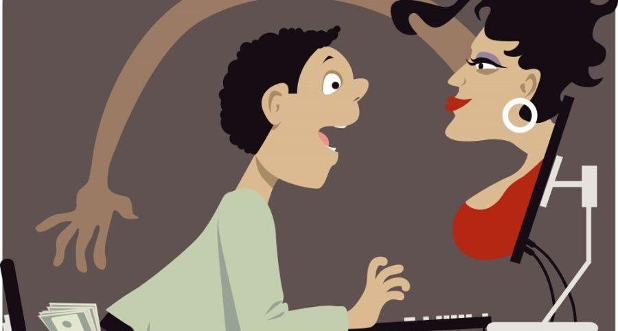 Обманы на сайтах знакомств