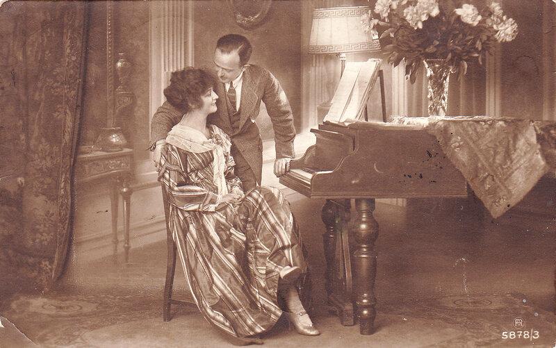 пара и пианино