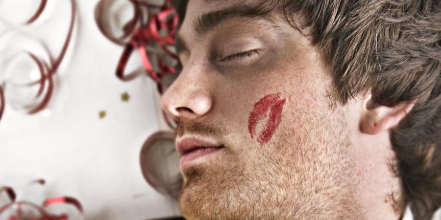 поцелуй на щеке