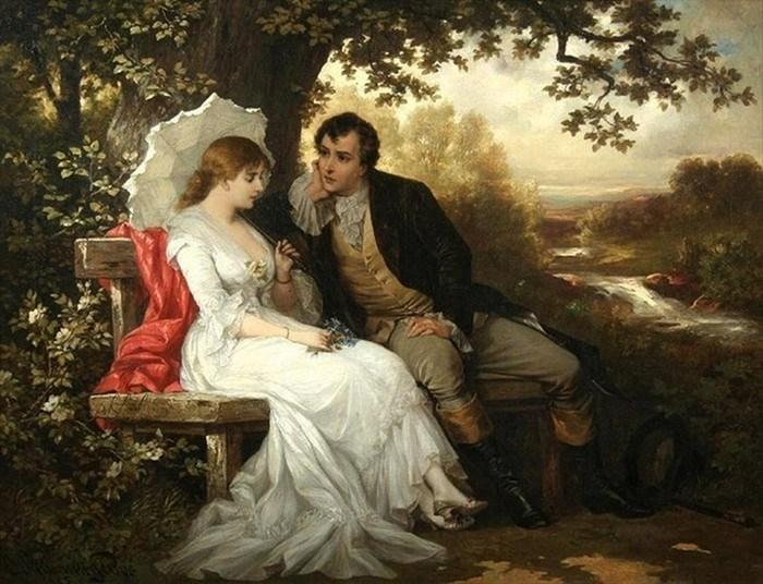 пары в 19 веке