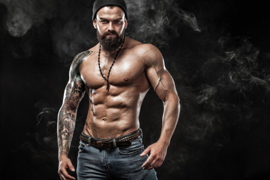 красивое мужское тело