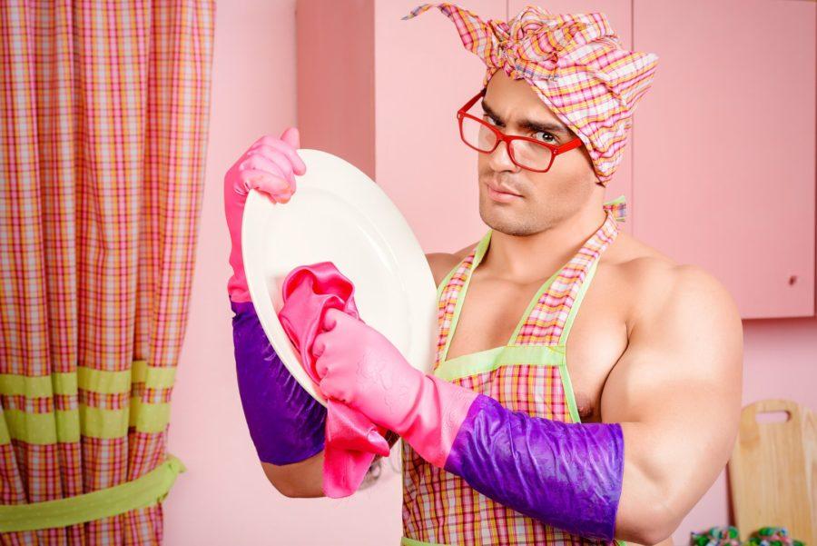 мужчина домохозяйка