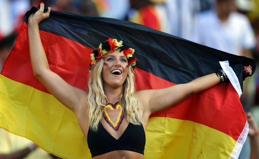 Самые красивые немки