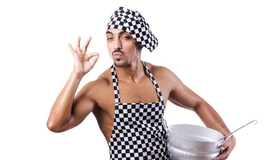 мужчина должен уметь готовить