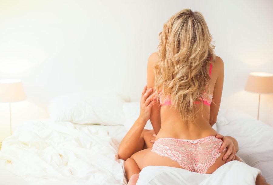 Водопад поза секса