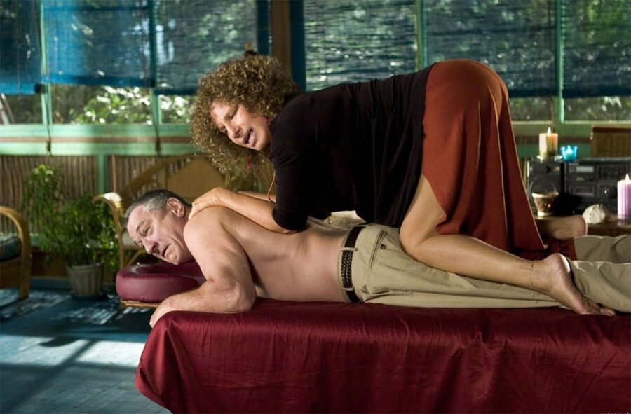 массаж кадр из фильма