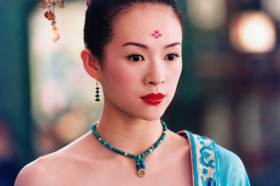 девушка Китая
