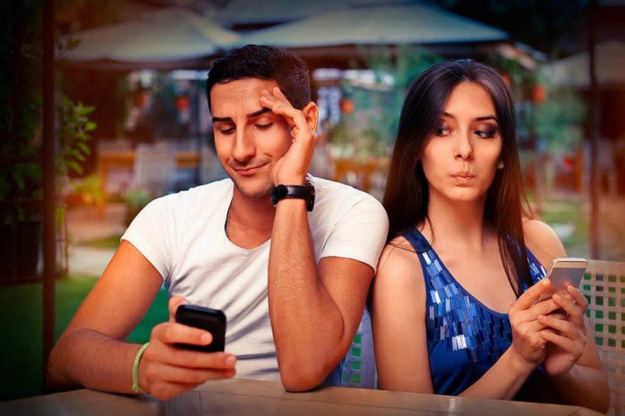 виртуальная жизнь убивает отношения