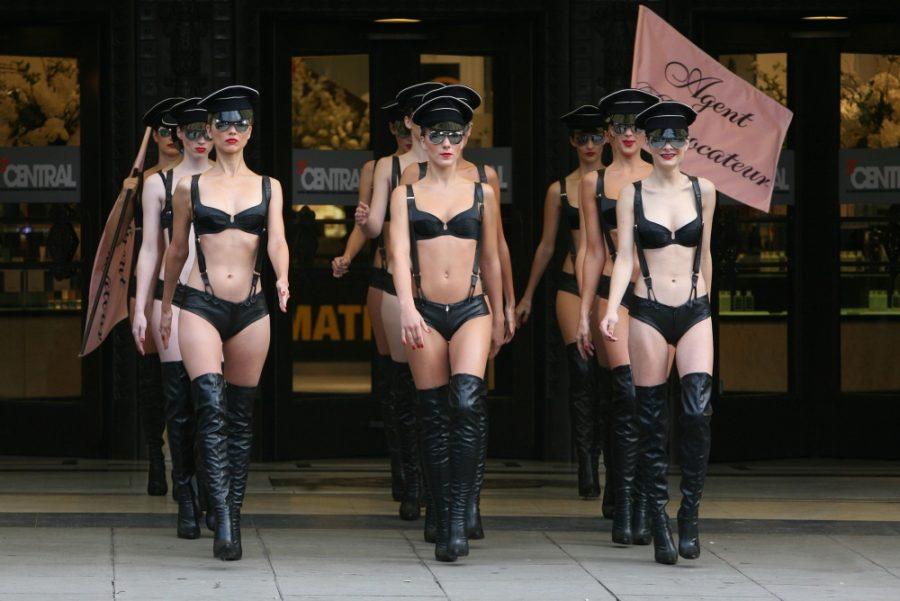 секс провокации на улице