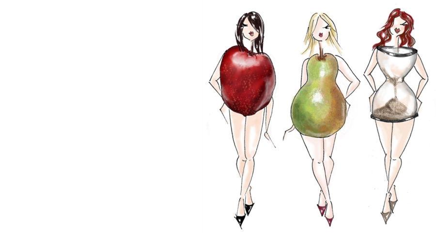 распространенные типы фигуры у женщин