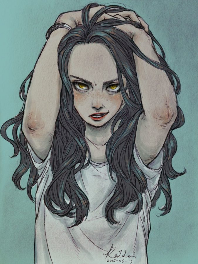 Злая девушка