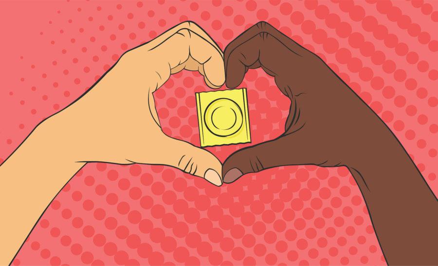 что делать с презервативом внутри