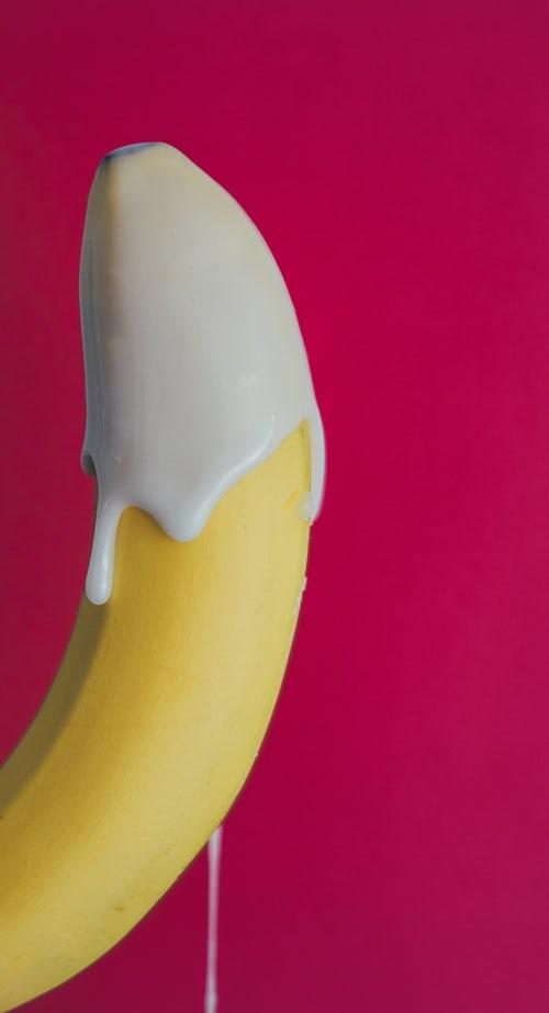 крупный банан