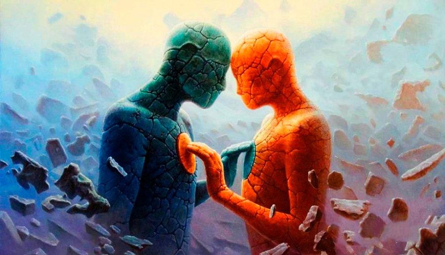 душа мужчины и женщины картинка