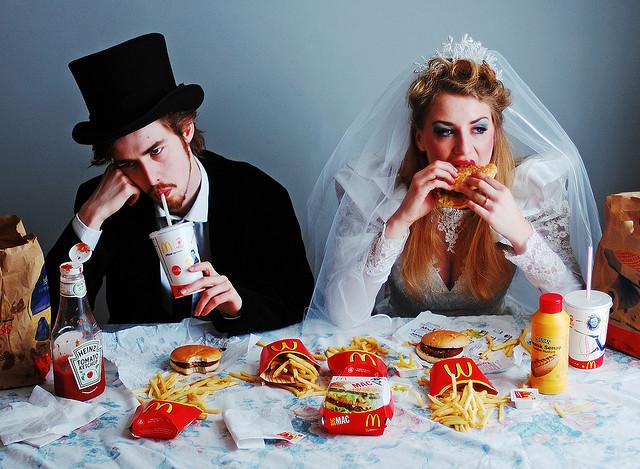 свадьба в макдаке