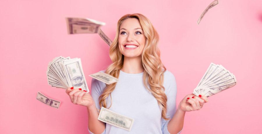 Любовь женщины за деньги