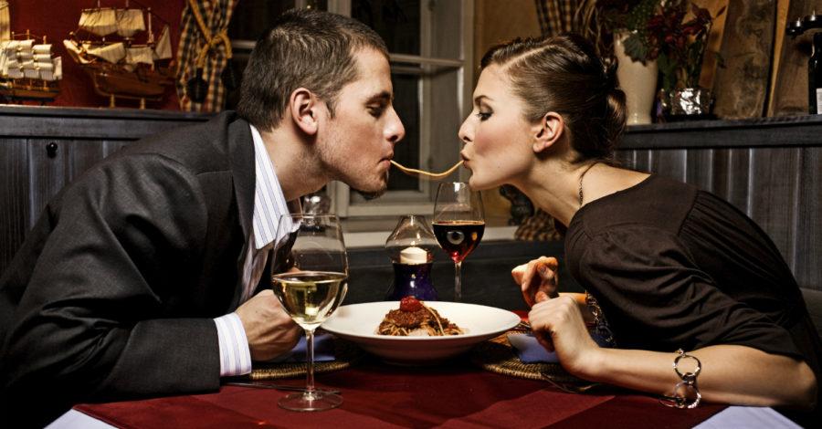 Помириться с парнем за ужином