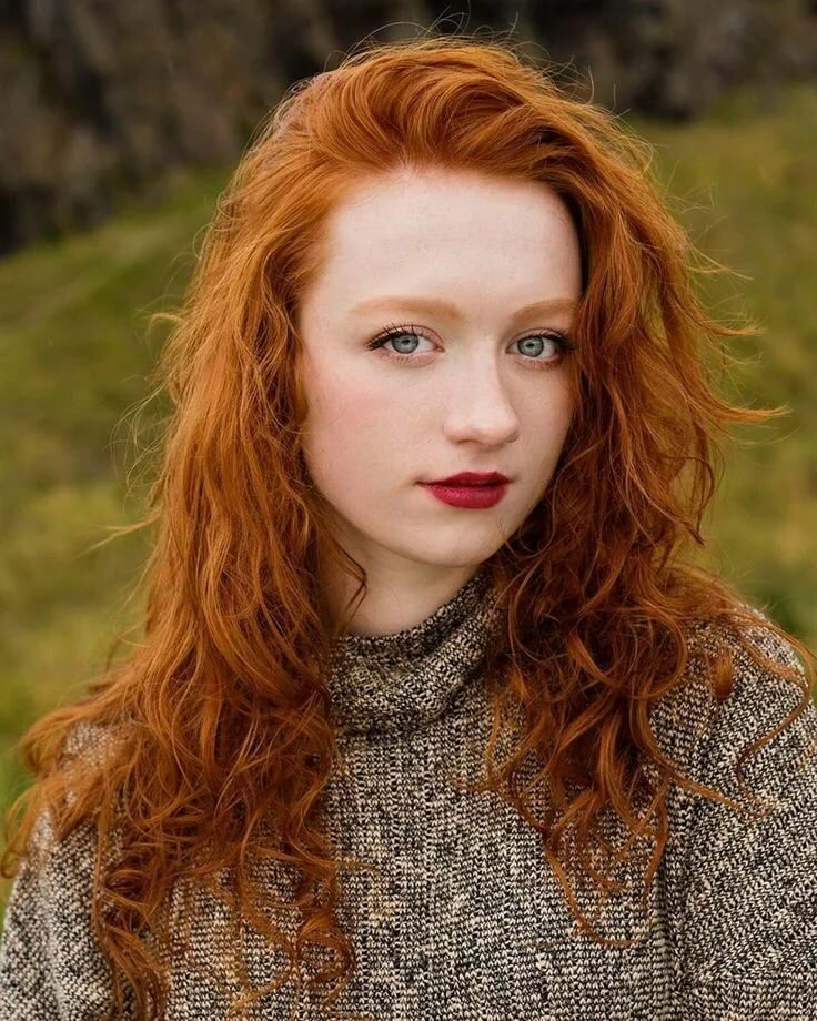Красивые и сексуальные рыжеволосые женщины (фото актрис)