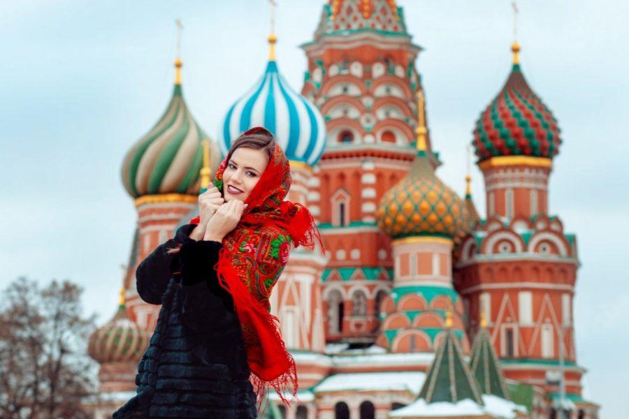 девушка из Москвы
