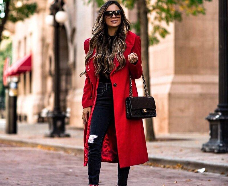 Красное в стиле Casual