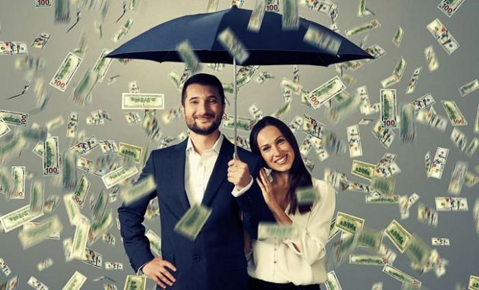 денежный дождь