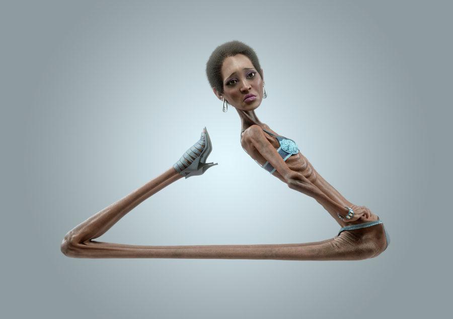 Отношения с анорексичкой