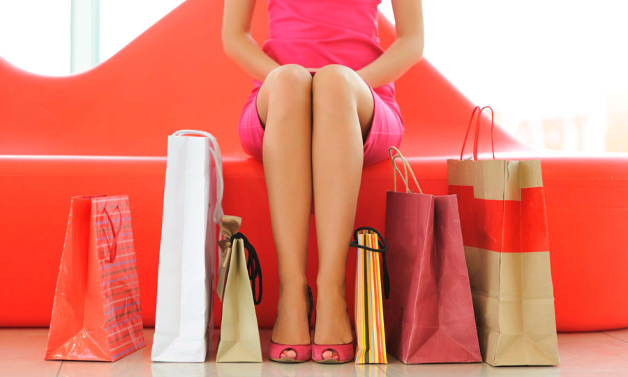 про безопасный шопинг с девушкой