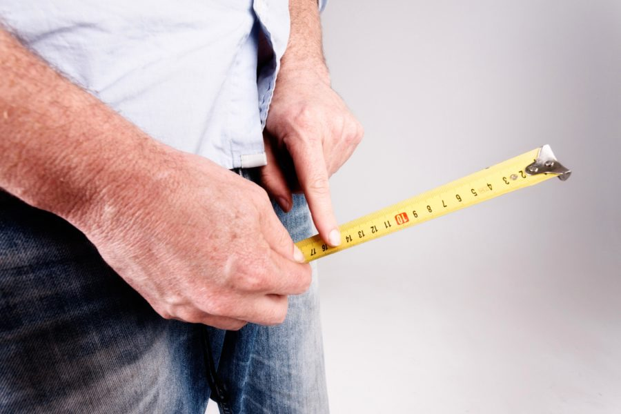 Измерить пенис