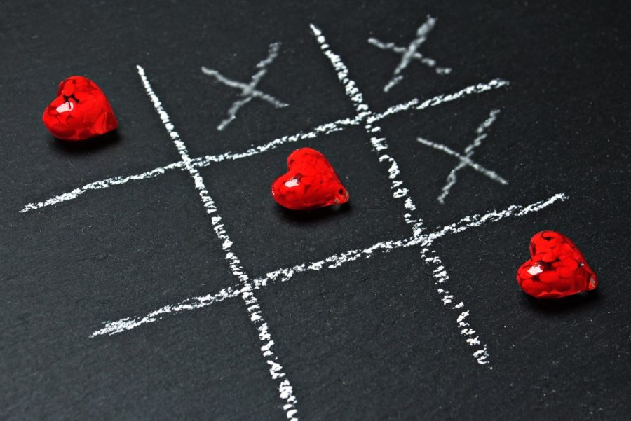 сердечки крестики