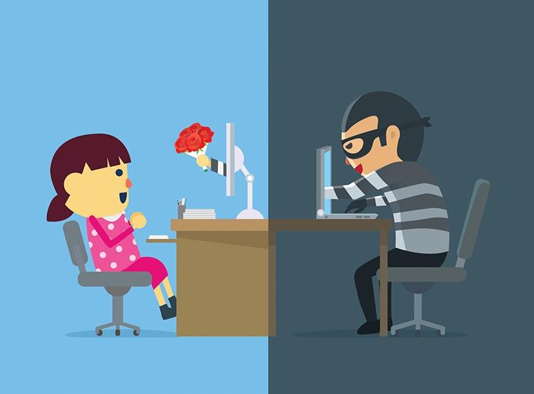 Мошенники на сайтах знакомств