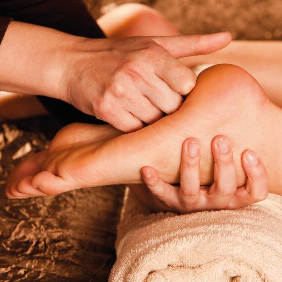 правила массажа стоп