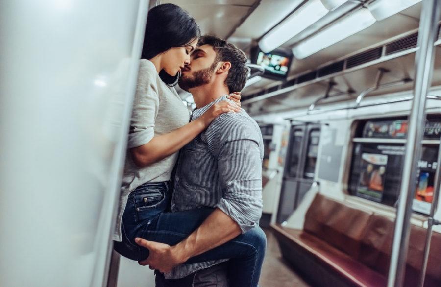 Необычные места для возлюбленных