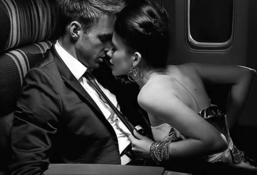 Секс в самолёте