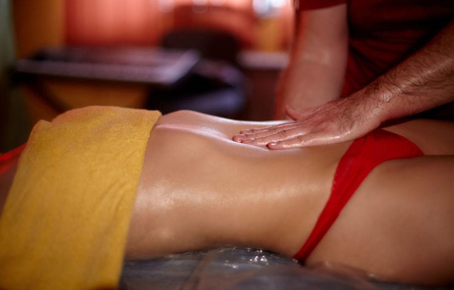Эротический массаж с окончанием