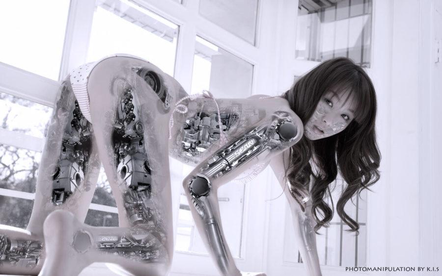 робот азиатка
