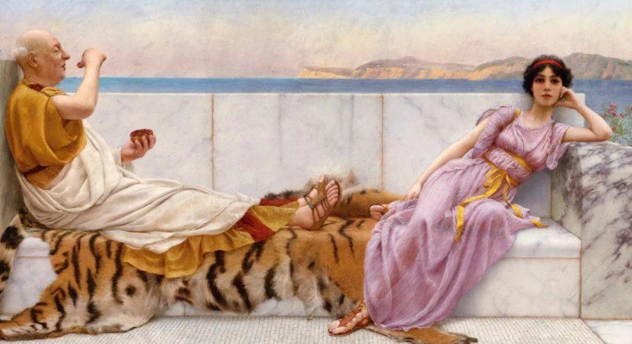 Гетера Древней Греции