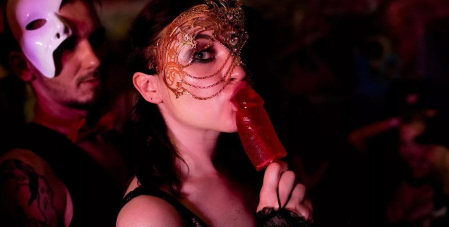 Полный разврат на Kinky Party