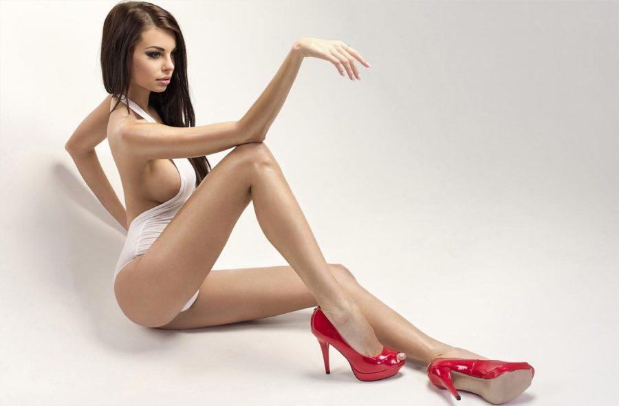 Каблуки делают девушек более привлекательными
