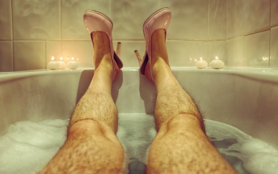 небритые ноги