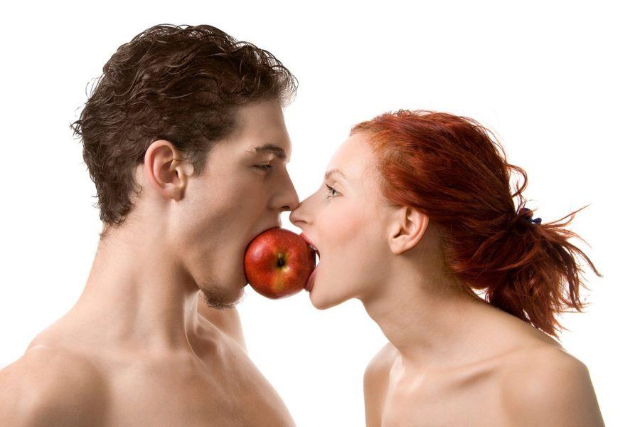 Положительно на запах мужчины влюяют свежие фрукты