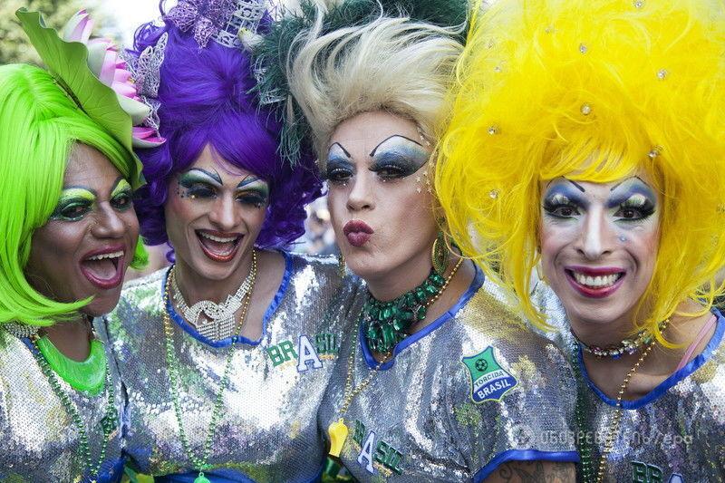 карнавал парада любви