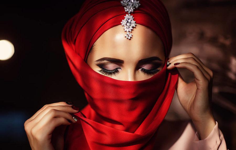 красота арабских девушек