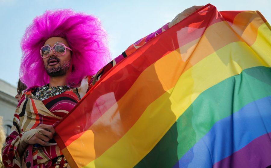 флаг радужного праздника