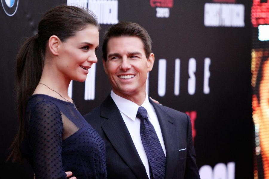 Том Круз с женой