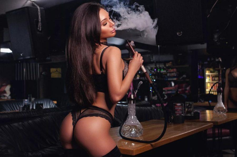 Если женщина курит