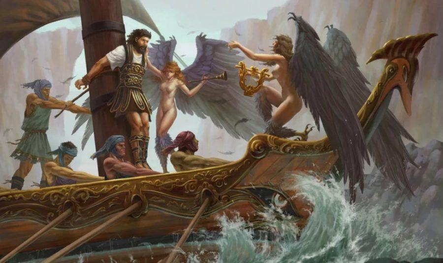 Одиссей и сирены