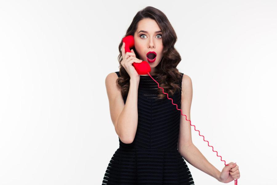 разговор с парнем по телефону