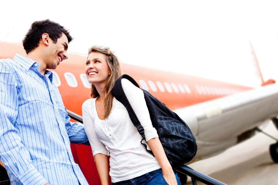 знакомство в аэропорту